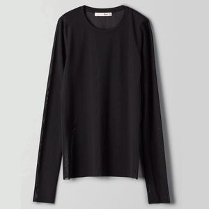 WLFRED FREE Kristen Long Sleeve Mesh Shirt